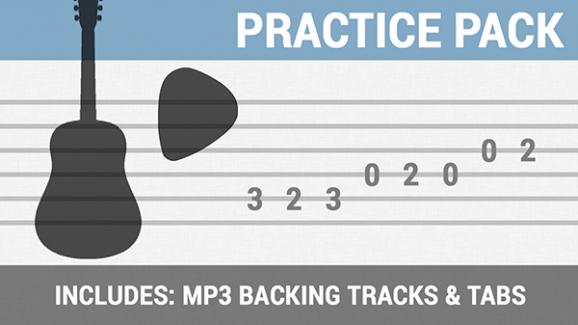 Practice Pack - Audio & Tab | Brandon Johnson Guitar